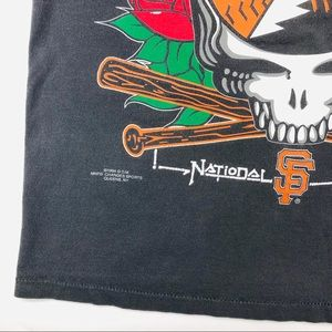Changes Shirts - 🥂Sold🥂Vtg Grateful Dead x San Fransisco Giants